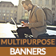 Multipurpose Business Banners - GraphicRiver Item for Sale