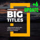 Big Titles - VideoHive Item for Sale