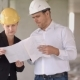 Architect Team Man and Woman Discussing About Building Plan for Construction at Job Site - VideoHive Item for Sale