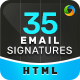 Email Signature - 35 Templates - Updated! - GraphicRiver Item for Sale