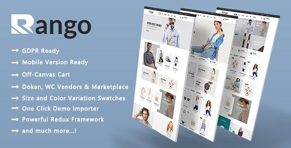 Rango - Premium Multi-Purpose Responsive WooCommerce WordPress Theme - WooCommerce eCommerce