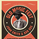 Old Music Flyer - GraphicRiver Item for Sale