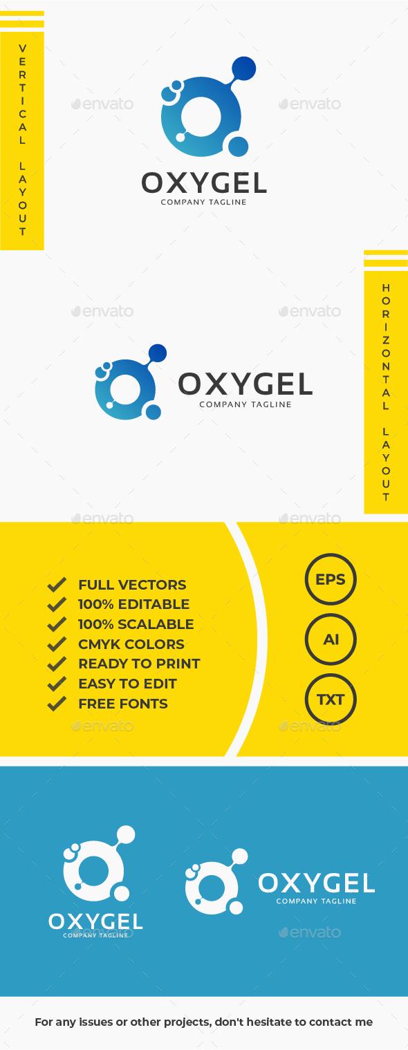 Oxygel - Letter O Logo - Letters Logo Templates