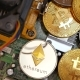 Gold Bitcoin BTC Coins and Cryptocurrency Litecoin and Ethereum - VideoHive Item for Sale