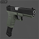 Glock G18 - 3DOcean Item for Sale