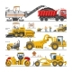 Road Construction Vectors - GraphicRiver Item for Sale
