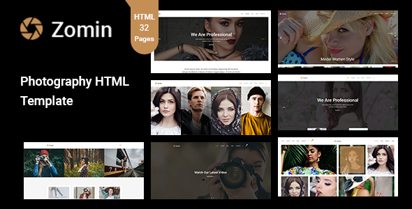 Image of Zomin - Photography Template for Photographers