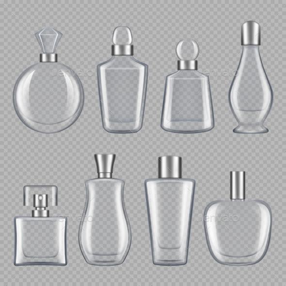 Perfumes Bottles - Man-made Objects Objects