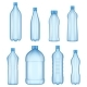 Plastic Bottles for Water Realistic Vector - GraphicRiver Item for Sale