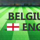 Soccer, football match, Belgium vs England, 3d illustration - PhotoDune Item for Sale
