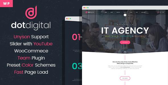 Image of DotDigital – Web Design Agency WordPress Theme