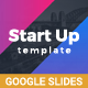 StartUp Google Slides - GraphicRiver Item for Sale