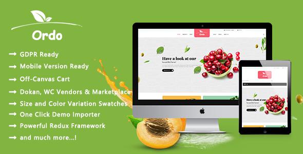 Ordo - Organic Beauty Responsive WooCommerce WordPress Theme - WooCommerce eCommerce