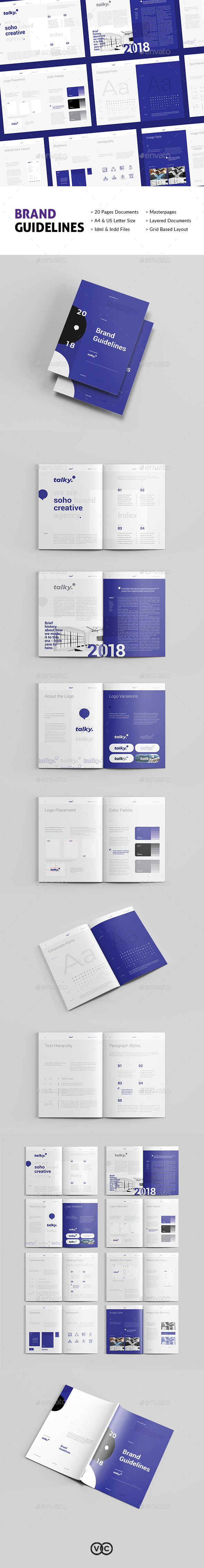 Brand Guideline - Corporate Brochures