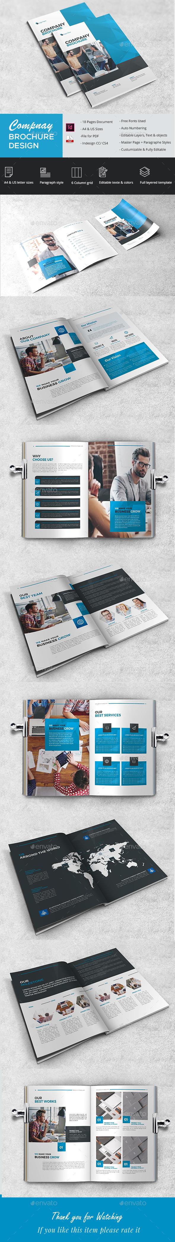 Elegant Proposal Brochure - Brochures Print Templates