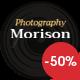 July Morison | Event Photographer's Portfolio & Blog WordPress Theme