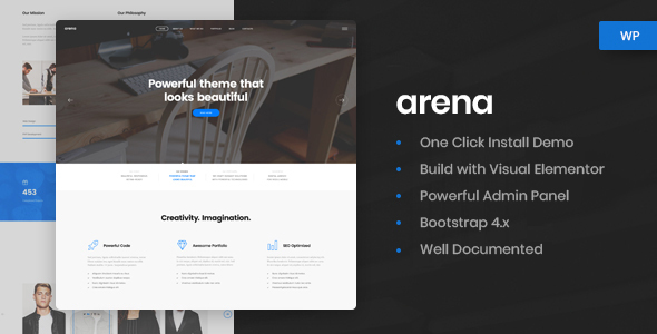 Arena - Business & Agency WordPress Theme
