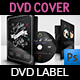 Wedding DVD Cover and Label Template Vol.11