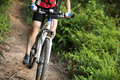 Riding bike on mountain trail - PhotoDune Item for Sale