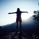 Hiking on sunrise mountain top   - PhotoDune Item for Sale