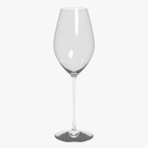 Glass Riedel Superleggero Champagne Wine - 3DOcean Item for Sale