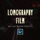 20 Lomography Film Lightroom Presets