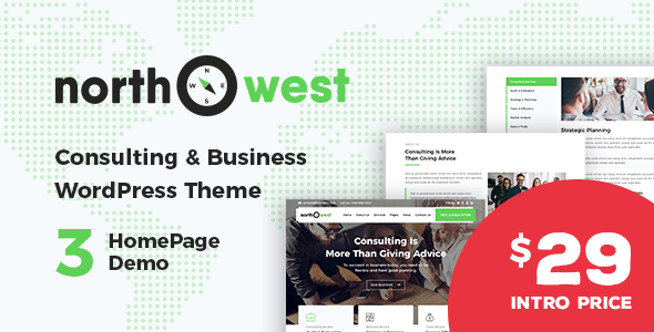 Image of Northwest - Consulting WordPress Theme