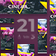 Cinema Club Banner Pack - GraphicRiver Item for Sale