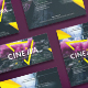 Cinema Club Flyers - GraphicRiver Item for Sale