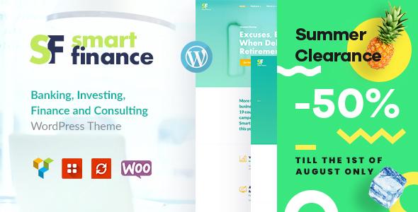 Smart Finance | Accounting & Tax Help WordPress Theme