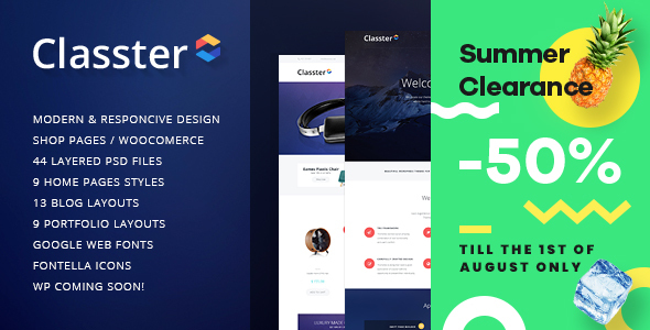 Classter | Multi-Purpose WordPress Theme - Miscellaneous WordPress