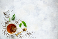 Top view of a cup of tea - PhotoDune Item for Sale