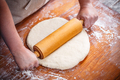 Female rolling out dough - PhotoDune Item for Sale