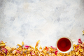 Rose petals and cup of tea - PhotoDune Item for Sale