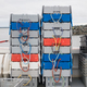 Fishing crates on boat deck piled-up - PhotoDune Item for Sale