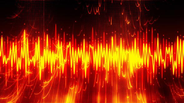 Music Energy Waveform 3