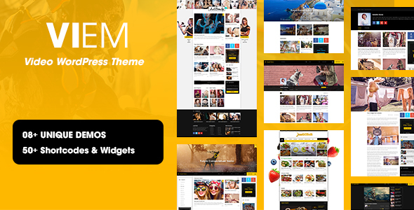 Viem - Video WordPress Theme