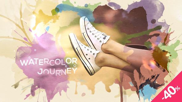 Watercolor Journey – VideoHive 22248996