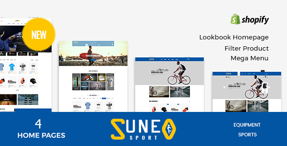 Image of Suneo - Sport Store Shopify Theme