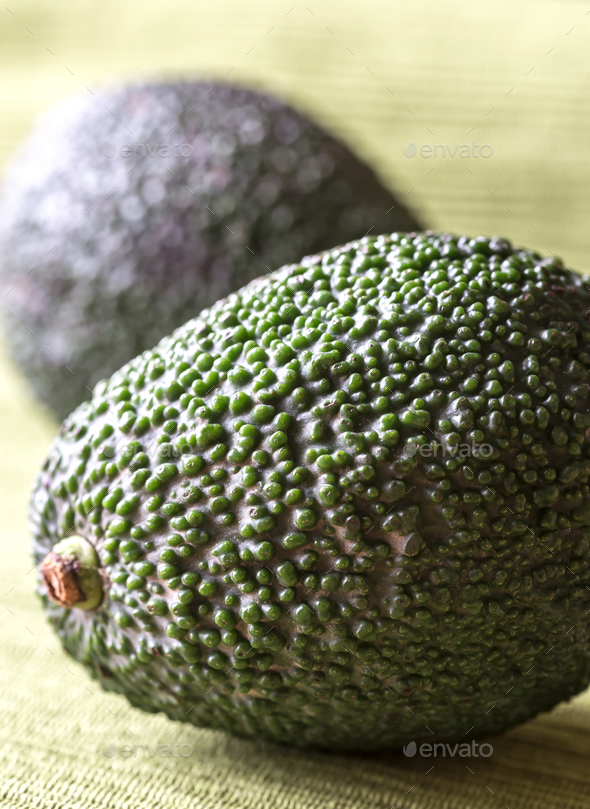 Hass avocados close up - Stock Photo - Images