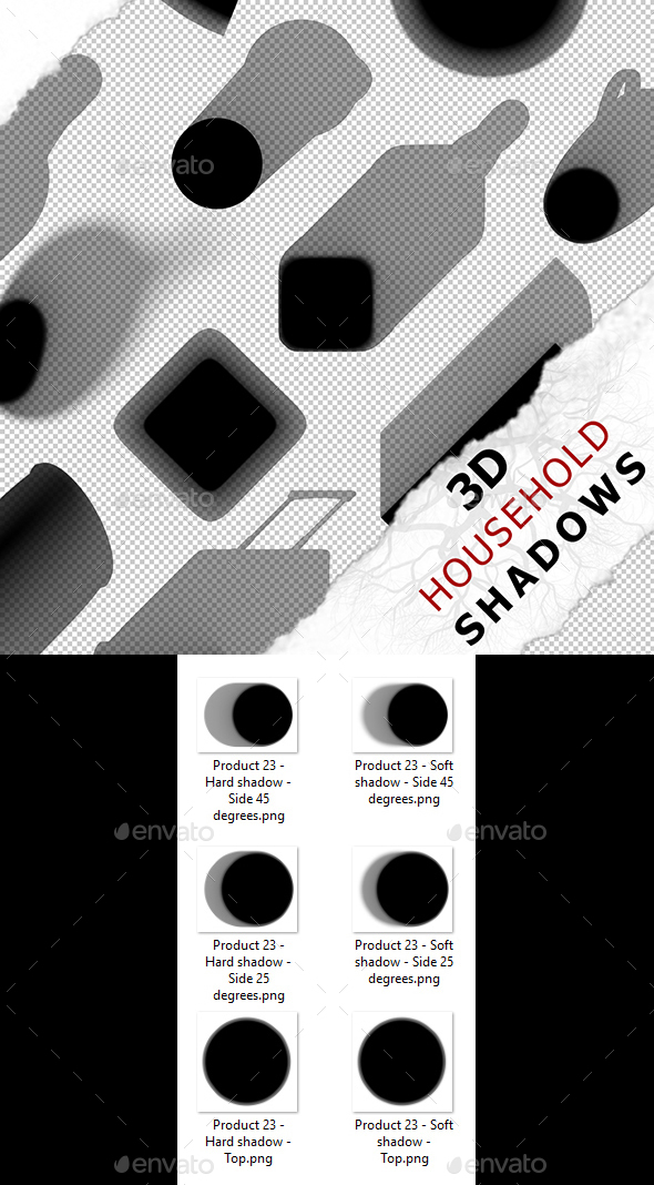 3D Shadow - Product 23 - 3DOcean Item for Sale