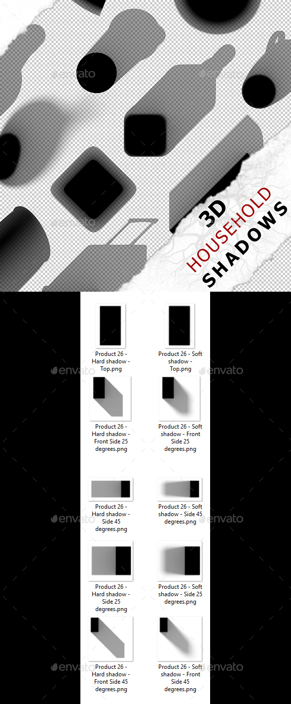 3D Shadow - Product 26 - 3DOcean Item for Sale