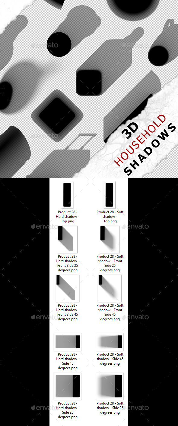 3D Shadow - Product 28 - 3DOcean Item for Sale