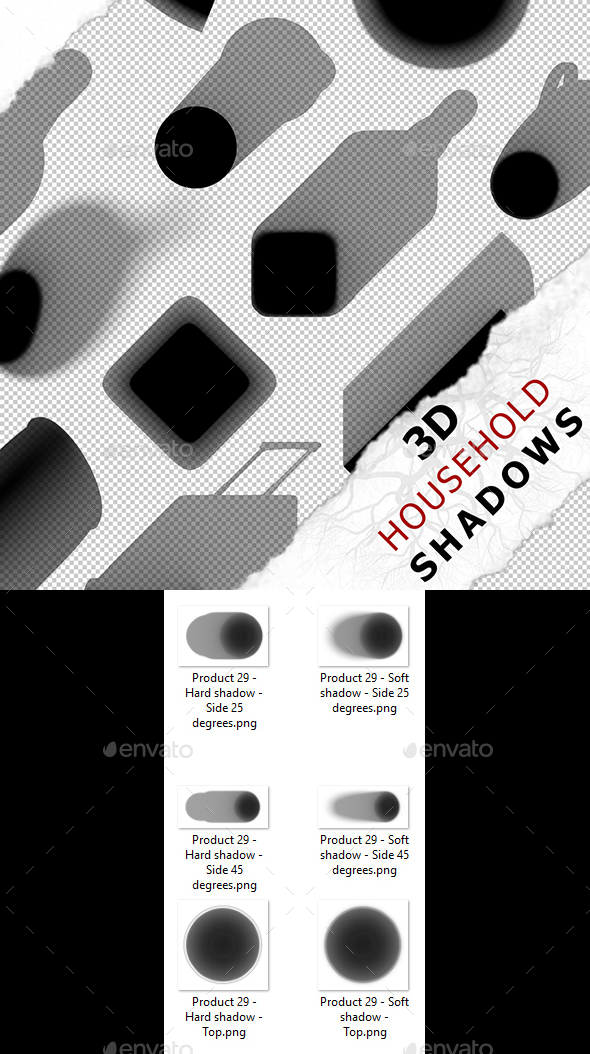 3D Shadow - Product 29 - 3DOcean Item for Sale