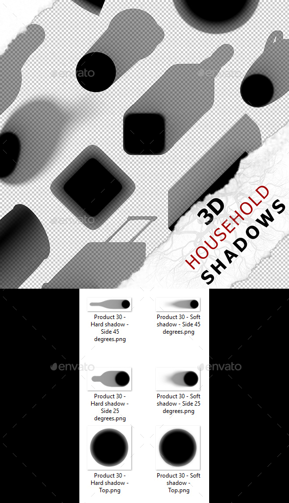 3D Shadow - Product 30 - 3DOcean Item for Sale