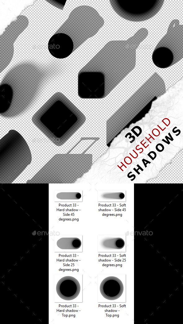 3D Shadow - Product 33 - 3DOcean Item for Sale