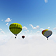 Colorful Hot Air Balloons Flying - VideoHive Item for Sale