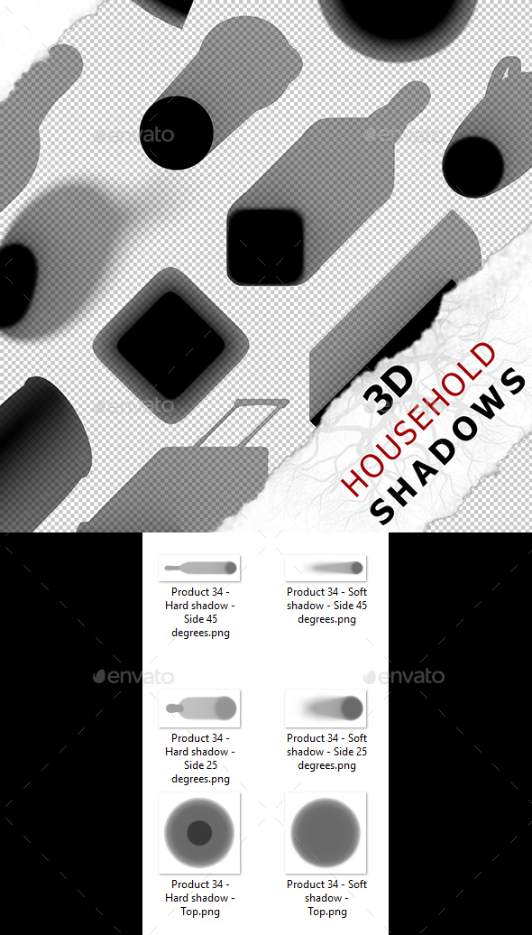 3D Shadow - Product 34 - 3DOcean Item for Sale