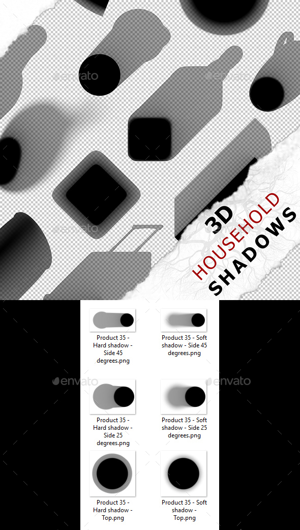 3D Shadow - Product 35 - 3DOcean Item for Sale