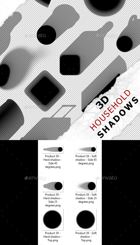 3D Shadow - Product 39 - 3DOcean Item for Sale
